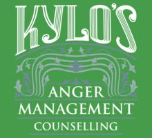 Anger Management Counselling Kids Tee