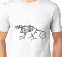 Vintage Chameleon Lizard Skeleton  Unisex T-Shirt