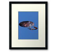 Star Trek - space Framed Print