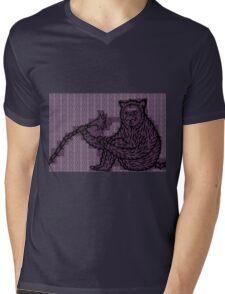 Strange ape 2 Mens V-Neck T-Shirt