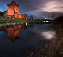 Twilight Ross Castle by Derek Smyth