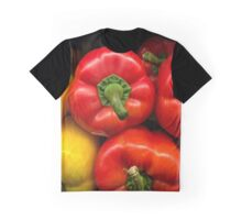 Garden Bounty - Peppers Graphic T-Shirt