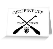 Gryffinpuff Seeker Greeting Card