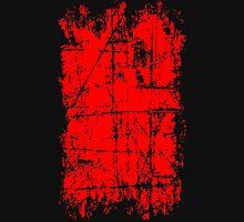 Scratched Red Surface Unisex T-Shirt