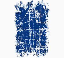 Scratched Dark Blue Surface Unisex T-Shirt