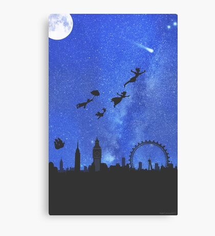 Welcome to Neverland- version 1 Canvas Print