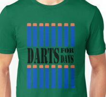 NERF TOY DESIGN- DARTS FOR DAYS! Unisex T-Shirt