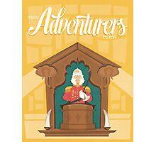 The Adventurers Club  - Pleasure Island - Retro Disney Photographic Print