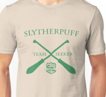 Slytherpuff Team Seeker in Green Unisex T-Shirt
