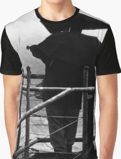Newport Oregon - Weathering The Storm Graphic T-Shirt