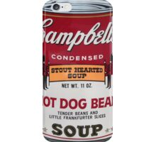 campbell's iPhone Case/Skin