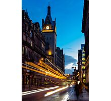 Hope Street, Glasgow Photographic Print
