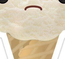 Grumpy Vanilla Ice Cream Sticker