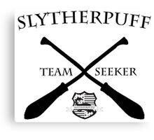 Slytherpuff Team Seeker Canvas Print