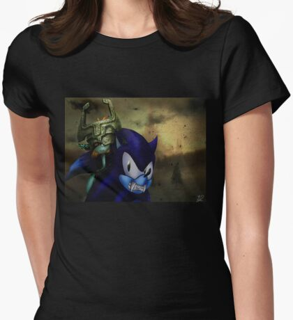 Sonic: Twilight Princess  Womens Fitted T-Shirt
