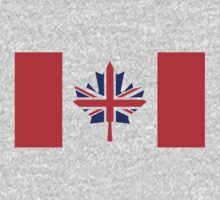 Canada / UK Flag Mix (Request) One Piece - Short Sleeve