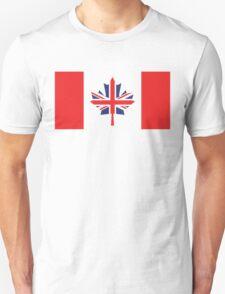 Canada / UK Flag Mix (Request) T-Shirt