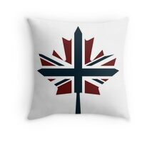 Anti Flag (Canada / UK Mix) Throw Pillow