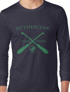 Slytherclaw Team Seeker in Green Long Sleeve T-Shirt
