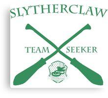 Slytherclaw Team Seeker in Green Canvas Print