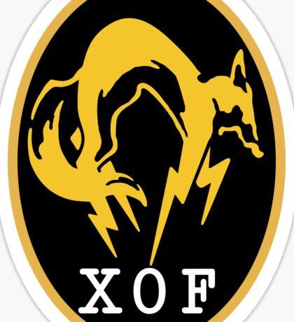 XOF Sticker