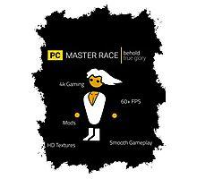PC Master Race Photographic Print