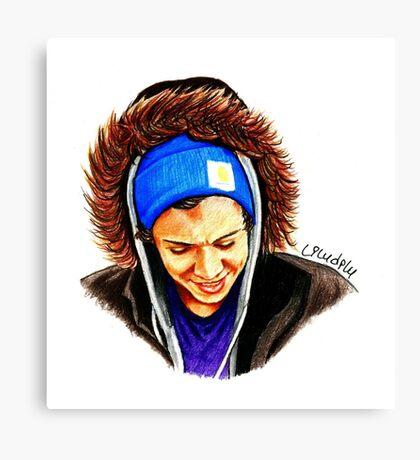 Winter Harry Canvas Print