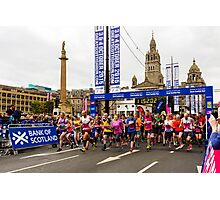 Great Scottish Run Starting Line Photographic Print