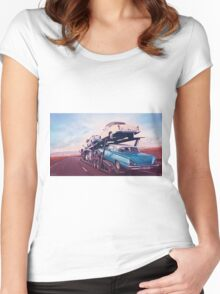 On The Road Again Women's Fitted Scoop T-Shirt