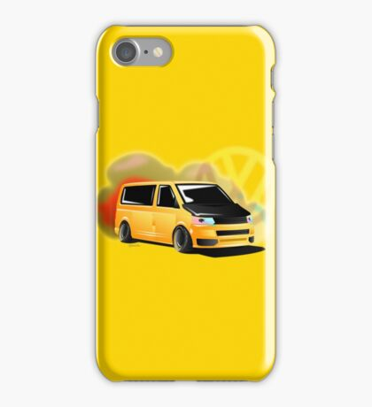 T5 Yellow smoke iPhone Case/Skin