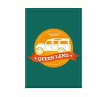 Queen Land 109 SW Art Print