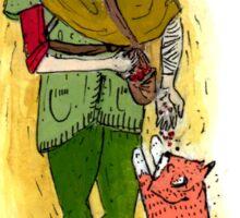 Elf & Foxes Sticker Sticker