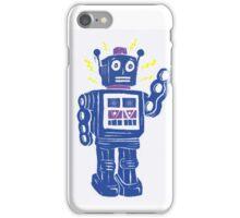 Retro Robot Parade iPhone Case/Skin