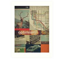 Optimism178 Art Print