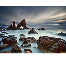 Sea Arch At Crohy Head Photographic Print