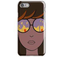 Daria Fire Glasses iPhone Case/Skin