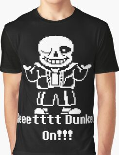 Undertale Get Dunked On! Graphic T-Shirt