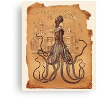 Lady Cthulhu  Canvas Print