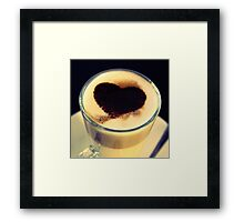 I Like Coffee - Dwi'n Hoffi Coffi Framed Print