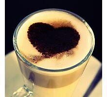 I Like Coffee - Dwi'n Hoffi Coffi Photographic Print