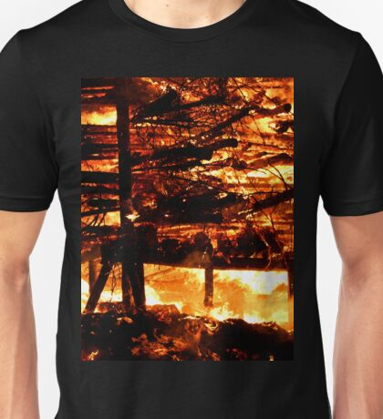 holding on to the Celtic tradition Unisex T-Shirt