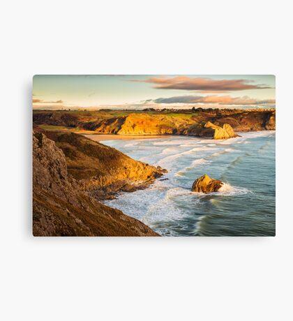 Three Cliffs Bay, Gower Canvas Print