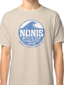 Nunis Wave Machine Co - Distressed Classic T-Shirt