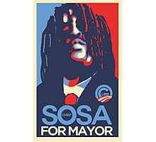 Chief Keef for mayor Photographic Print
