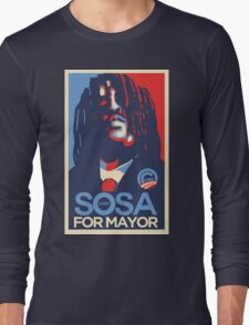 Chief Keef for mayor Long Sleeve T-Shirt