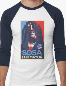 Chief Keef for mayor Men's Baseball ¾ T-Shirt