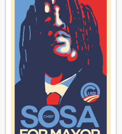 Chief Keef for mayor Sticker