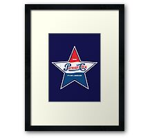 100% American Patriot Cola! Framed Print