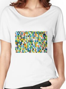 Colourful ceramic tiles Women's Relaxed Fit T-Shirt