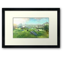 The Legend of Zelda for Wii U Framed Print